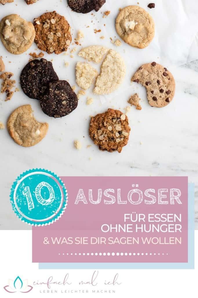 10 Auslöser für Essen ohne Hunger - und was sie Dir sagen wollen - Beitragsbild 10
