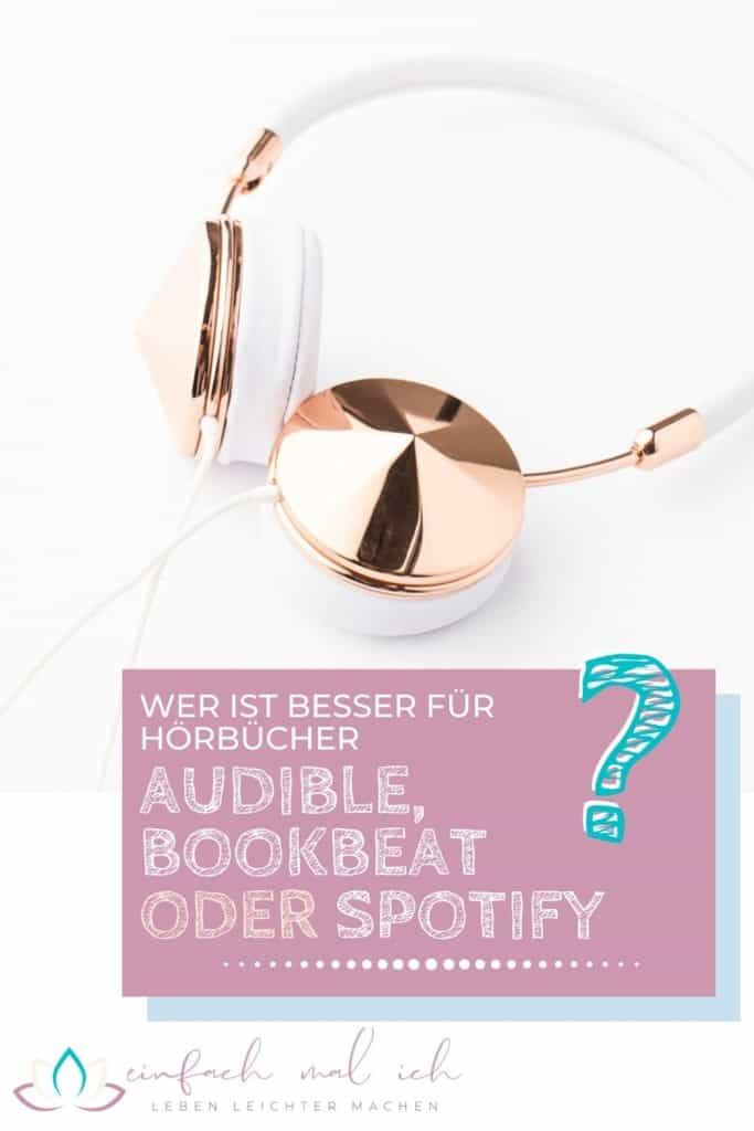 Audible, Bookbeat oder Spotify für günstige Hörbücher? - Beitragsbild 6